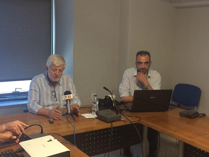 Ο Δημήτρης Παυλής και ο Γιώργος Θεοδωρακόπουλος